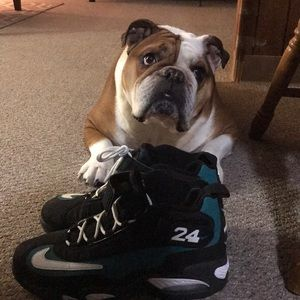Size 10 Nike air Griffey 1 freshwater colorway